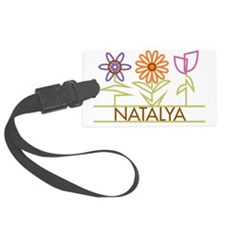 NATALYA-cute-flowers Luggage Tag