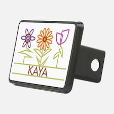 KAYA-cute-flowers Hitch Cover