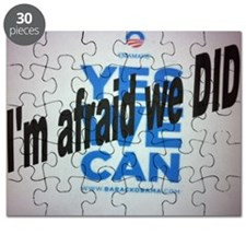 Yes we Can? I'm afraid we DID! Puzzle
