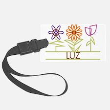 LUZ-cute-flowers Luggage Tag