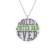 Coolest Foster Dad Necklace