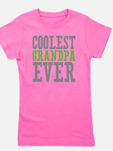 Coolest Grandpa Girl's Tee