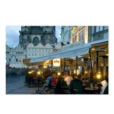 Outdoor restaurant, Czech Postcards (Package of 8)