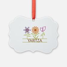 YARITZA-cute-flowers Ornament