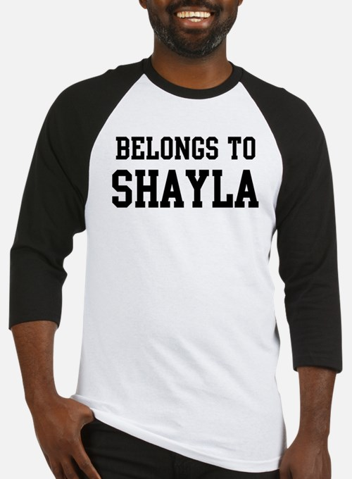 Belongs to Shayla Baseball Jersey