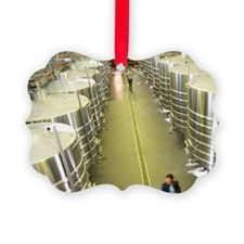 The brand new winery (cuverie) wi Ornament