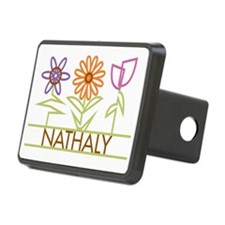 NATHALY-cute-flowers Hitch Cover