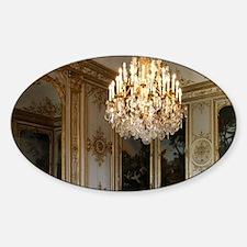 La Chambre de Monsieur le Prince (T Sticker (Oval)