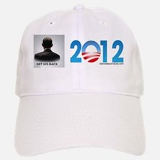 Obama Sticker Get His Back copy Baseball Baseball Cap