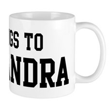 Belongs to Kassandra Small Small Mug