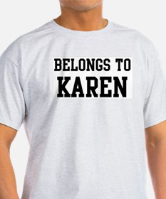Belongs to Karen T-Shirt