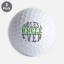 Coolest Uncle Golf Ball