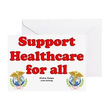 healthcarelawn Greeting Card