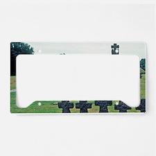 France, La Combe. German War  License Plate Holder