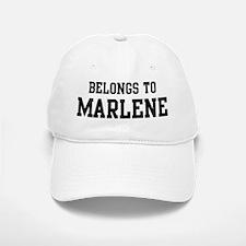 Belongs to Marlene Baseball Baseball Cap