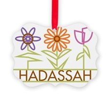 HADASSAH-cute-flowers Ornament