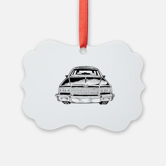 Car Shirt Front  Ornament