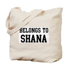 Belongs to Shana Tote Bag