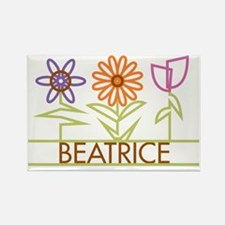 BEATRICE-cute-flowers Rectangle Magnet