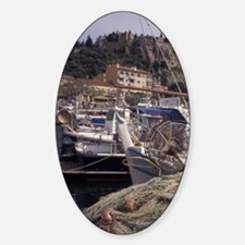 Europe, France, Cassis, fishing net Decal