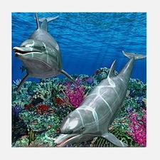 oceanworld_368_V_F Tile Coaster