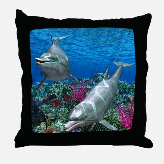 oceanworld_368_V_F Throw Pillow