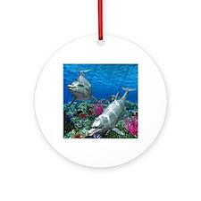 oceanworld_368_V_F Round Ornament