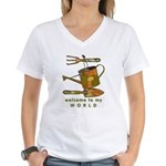 Garden Tools Women's V-Neck T-Shirt