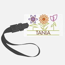 TANIA-cute-flowers Luggage Tag