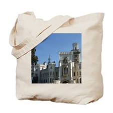 The entrance to Hluboka Castle in South B Tote Bag