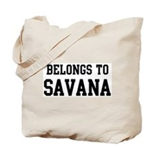 Belongs to Savana Tote Bag