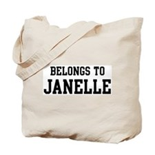 Belongs to Janelle Tote Bag