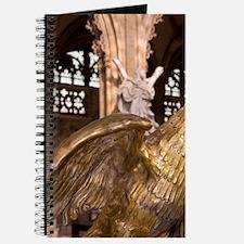Belgium, Liege, eagle, statue. Journal