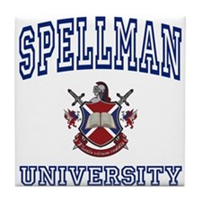 SPELLMAN University Tile Coaster