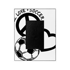 P,L,Soccer, black Picture Frame
