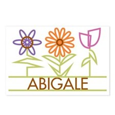 ABIGALE-cute-flowers Postcards (Package of 8)
