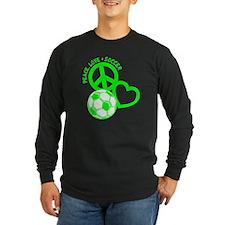 P,L,Soccer, neon green T