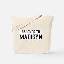 Belongs to Madisyn Tote Bag