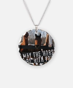 MaytheHorse10x10 Necklace