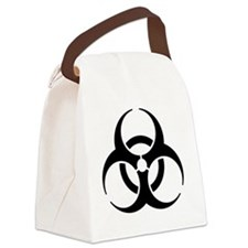 biohazard_bk_10x10 Canvas Lunch Bag