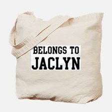 Belongs to Jaclyn Tote Bag