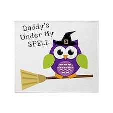 DaddyUnderSpell Throw Blanket