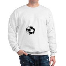 P,L,Soccer, white Sweatshirt