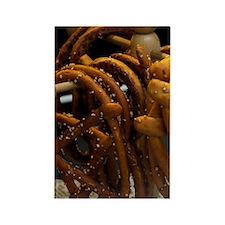 Handmade pretzels for saleStadt,  Rectangle Magnet