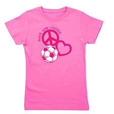 P,L,Soccer, melon Girl's Tee