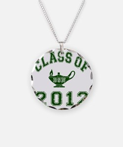 CO2012 BSN Green Distressed Necklace