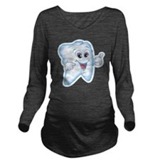 9987466thumbs up too Long Sleeve Maternity T-Shirt