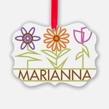 MARIANNA-cute-flowers Ornament