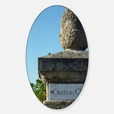 Entrance to the chateau with a marb Decal