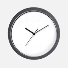 CO2012 BSN White Distressed Wall Clock